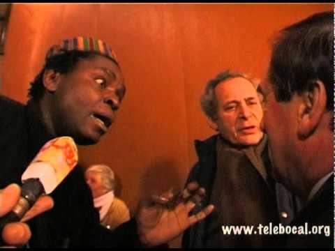 Manif à l'ambassade du Togo