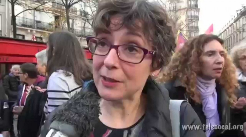 Soutien aux féministes de Madrid