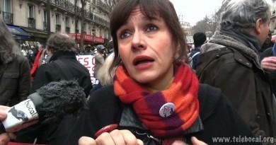 Manifestation pour les migrants & état d'urgence