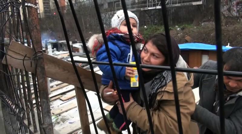 Rassemblement de soutien aux Roms