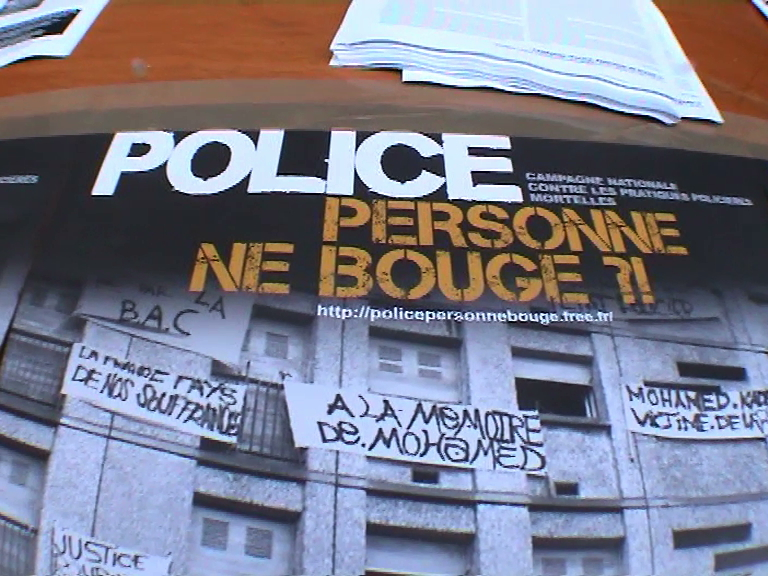 contre les violences policières dec08