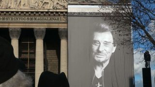 Ceremonie Johnny Hallyday
