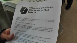 Occupation chômeurs et précaires mars10