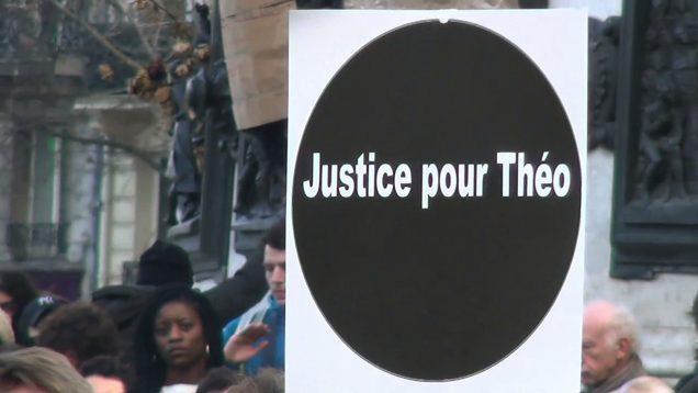 Justice pour Théo 8'18