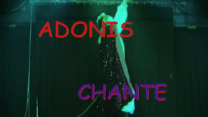 Adonis-chante